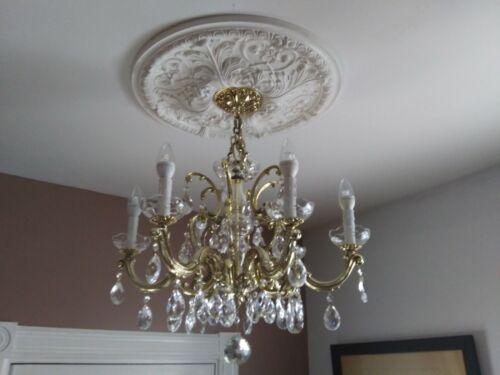 vintage schonbek crystal chandelier