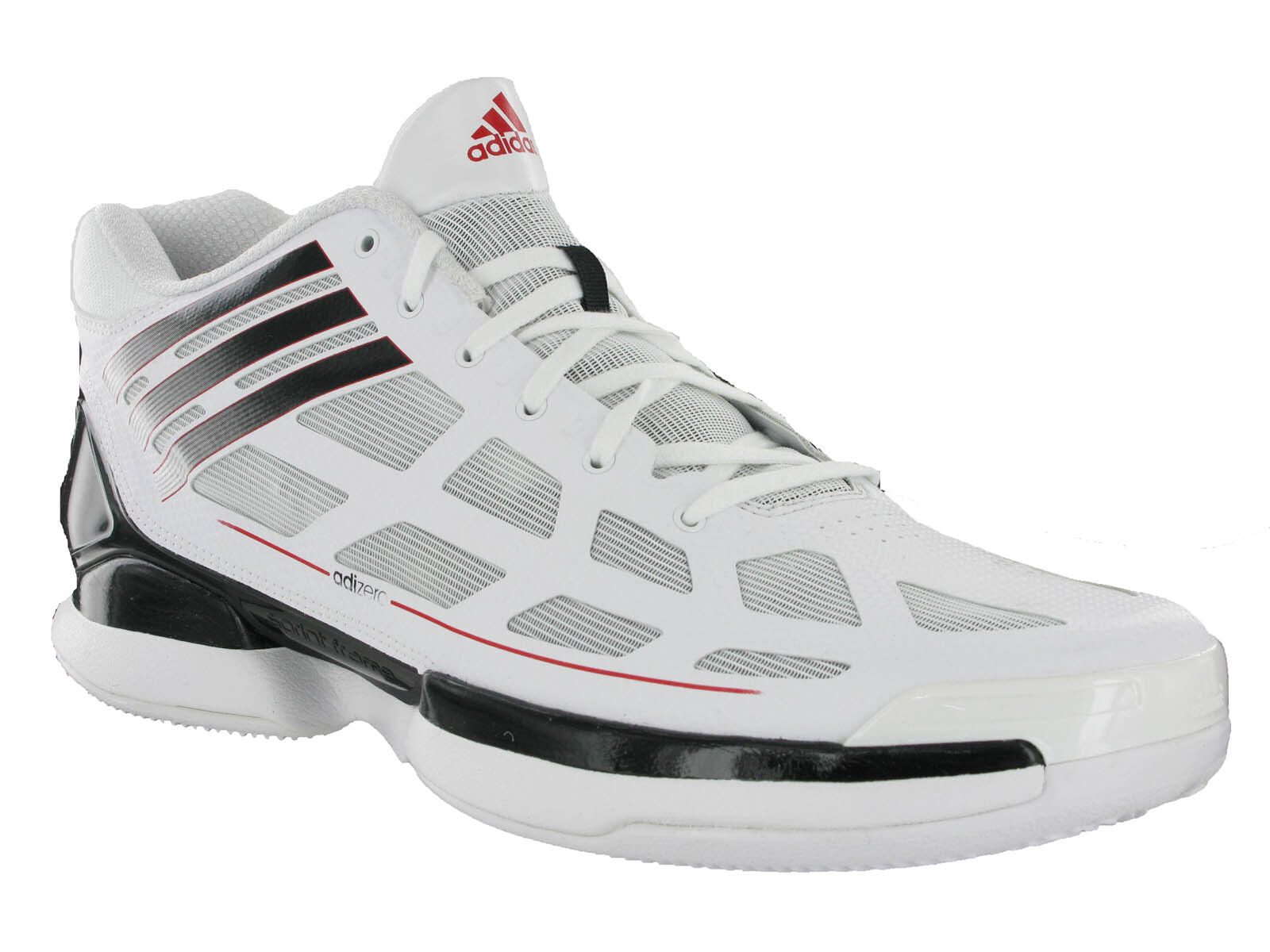 free shipping a3b64 85804 Adidas Adizero Crazy Light Basketball Fitness Sports Trainers Boots Hi-tops