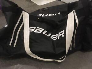 Bauer goalie bag