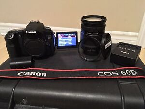 CANON 60D PERFECT, PRICED TO SELL, LOW SHUTTER COUNT