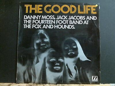 DANNY MOSS, JACK JACOBS & FOURTEEN FOOT BAND  Good Life LP British Jazz 1969 segunda mano  Embacar hacia Spain