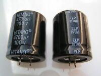 Kondensator ±20/% capacitor FTCAP 4700uF 100V NOS 1 Elko multi-pin