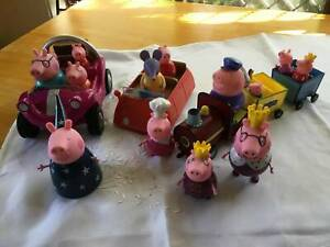 PEPPA PIG COLLECTION....CHARACTERS, CAR, TRAIN