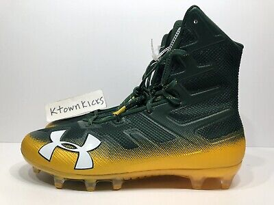 Under Armour UA Highlight MC LE Size 8.5 Football Cleats Camo Green 1289771 312