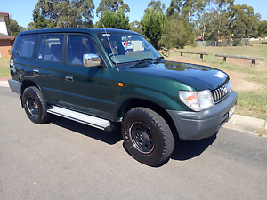 Toyota LandCruiser prado  gxl Lpg 1998 automatic 7 seater Campbelltown Campbelltown Area Preview