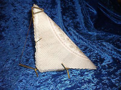 50er Jahre Rockabilly Vintage Serviettenhalter Segelschiffform