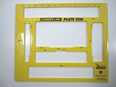 12-in Steel Lumber Tri Vise Heavy Duty Plate Vise Construction - Made In The Usa