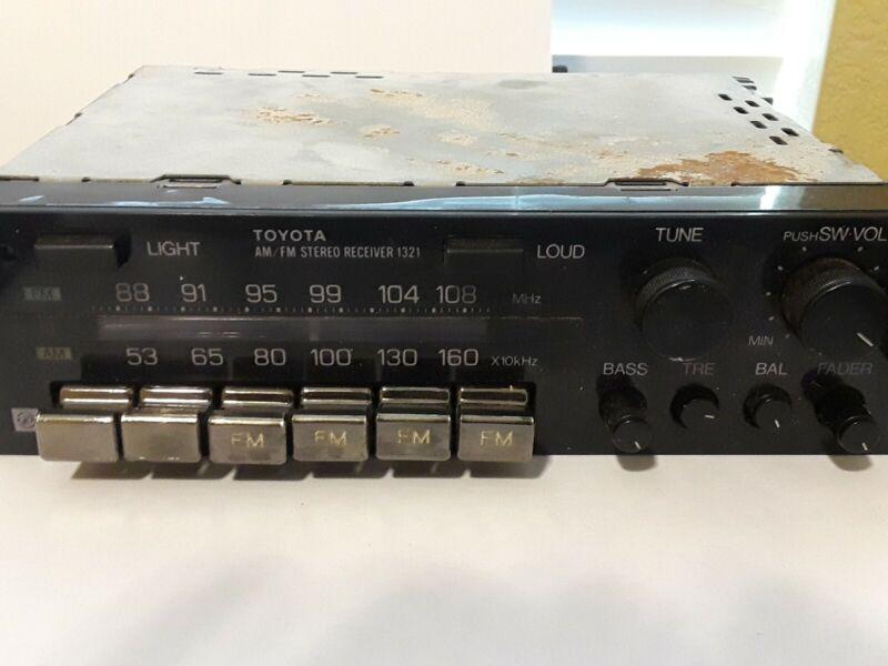 Vintage Toyota Car Stereo AM/FM Receiver 1321