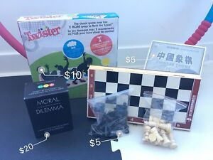 Chess/Chinese Chess/Twister/Party board game/Hula Hoop