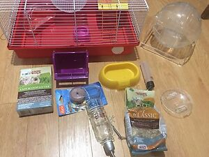 Small Pet Hamster Cage