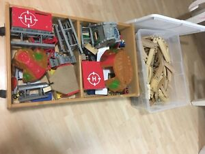 Wooden Train Set - Lots of Pieces