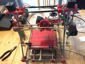 Reprap Mendel Prusa 3D printer w heated bed, filament and accessories! Auchenflower Brisbane North West Preview