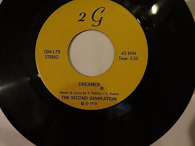 The Second Generation Shuffle For You   Dreamer   2 G Records   1978 Sweet Disc