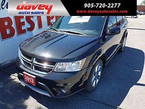 2013 Dodge Journey R/T 7 PASSENGER, DVD, SUNROOF