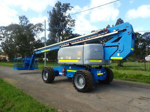 2012 GENIE Z80/60 84FT 25.7M ALL TERRAIN BOOM SCISSOR LIFT ELEVATED WORK PLATFORM EWP JLG Austral Liverpool Area Preview