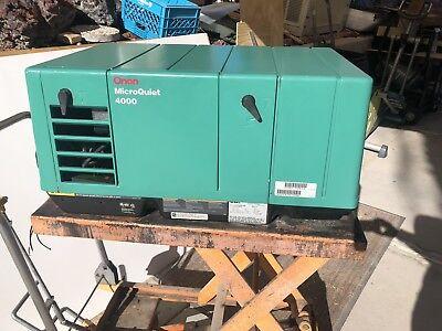 Onan Microquiet Generator 4000 Watt Rv Motorhome Generator
