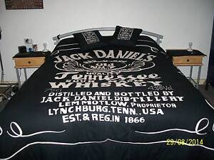 JACK DANIELS, JIM BEAM ,HARLEY DAVIDSON BED COVERS / DOONA QS +KS Mandurah Mandurah Area Preview