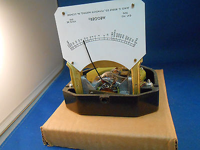 7676 James G. Biddle Co. Meter Replacement Megger New Old Stock