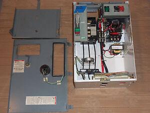 Square d model 6 size 2 motor starter 40 amp breaker mcc for Square d motor logic