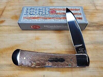 CASE XX TONY BOSE KNIFE BEAUTIFUL SYCAMORE WOOD TRIBAL LOCK (TB712010L SS)