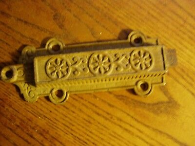 Antique Cast Iron Victorian Eastlake Chain  Pull   6 3/4