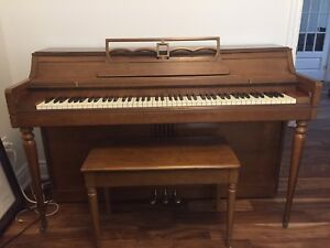 Excellent Condition, Wurlitzer Piano and Matching Bench