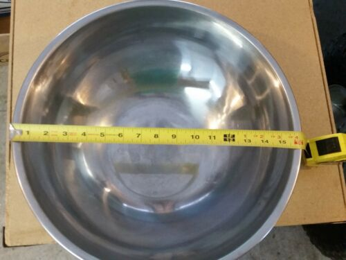 """Large 16"""" Stainless Steel Mixing Bowl"""