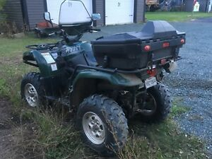 4 roues yamaha grizzly 2002