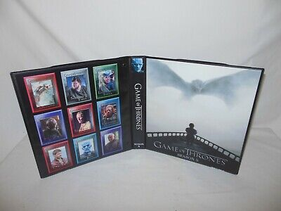 Custom Made Game of Thrones Season 5 Trading Card Binder Graphics Only