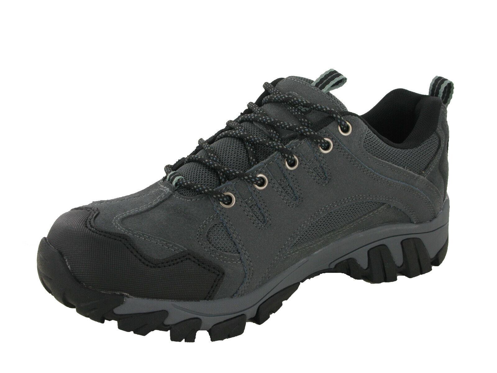 Grey! Hi-tec Auckland II Waterproof Walking Hiking Mens Trainers UK7-12 Brown