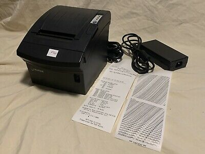 Bixolon Pr10135 Thermal Receipt Printer Srp-350pluscosgrdu Usbserial Pwr Sup