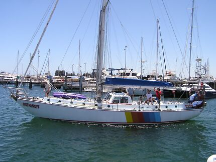 52 Foot Alan Payne Design 173 - Round Bilge Steel Hull