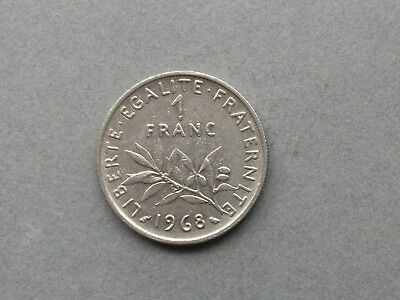 Frankreich 1 Franc   1968