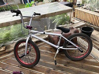 Subrosa BMX - Matt Silver - Red Wheels - Custom Components -