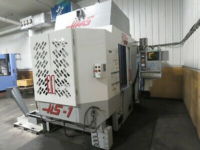 Haas Hs-1 Rp 2001 Tsc Video Very Good Horizontal Machining Center Mill Ready.