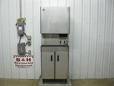 Hoshizaki Dcm-500bah-os Opti-serve Air Cooled Water Ice Dispenser Maker Machine