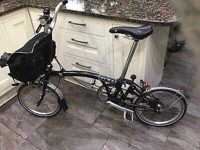 Brompton M1E (2015) Single Gear Folding Bike