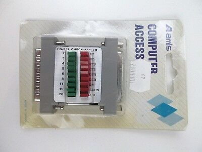 Amis RS232  25 Pin Check Tester