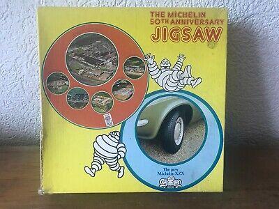 Vintage Michelin 50th Anniversary Jigsaw Puzzle. 1977. Bibendum.