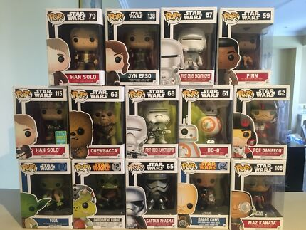 Star Wars pop vinyls