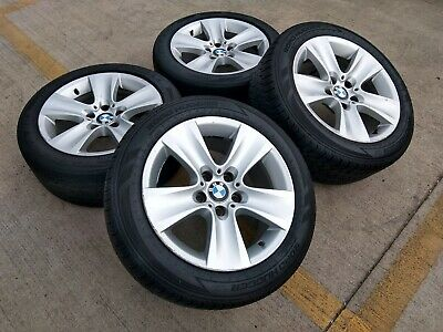 "17"" BMW 528i 535i 650i OEM 5 6 series wheels rims tire 2013 2014 2015 2016 71402"