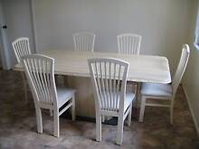 Dining Table + 6 Chairs - Travertine (Natural Stone) Mount Pleasant 4740 Mackay City Preview