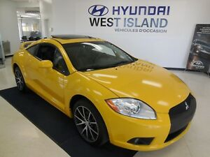2009 Mitsubishi Eclipse GT-P V6 3.8L CUIR/TOIT/MAGS 103$/semaine