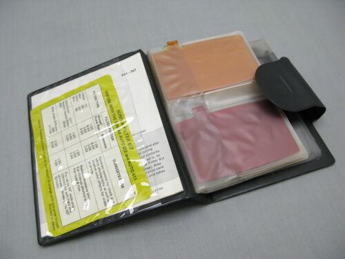 Sunpak Flash Filter Kit in Carry Case