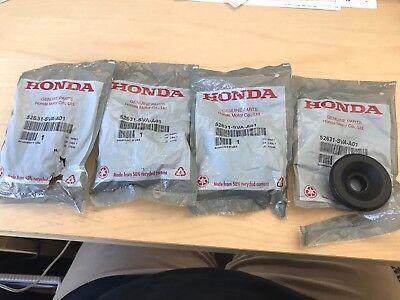 GENUINE 06-11 HONDA CIVIC REAR SHOCK ABSORBER BUSHING UPPER MOUNTING SET OF 4  Honda Shock Mounting