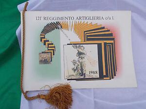 CALENDARIO-121-REGGIMENTO-ARTIGLIERIA-c-a-1-1988-con-sintesi-storico-ordinativ