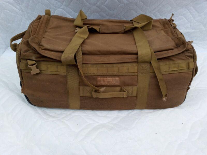 FORCE PROTECTOR GEAR COYOTE BROWN HYBRID DEPLOYMENT DUFFEL BAG FPG BACKPACK B9