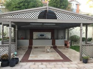 Timber Pergola Demolition Gable Roof gutter verandah patio carport Castle Hill The Hills District Preview