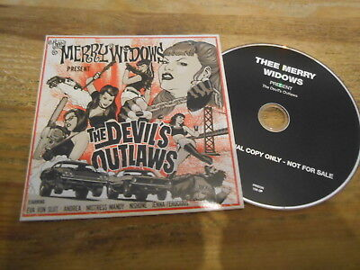 The Merry Widow Songs - CD Punk Thee Merry Widows - The Devil's Outlaws (12 Song) Promo PEOPLE LIKE YOU