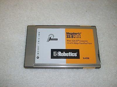 PCMCIA XJ4336 MEGAHERTZ PC MODEM CARD 33.6/14.4kbs PCMCIA X-Jack